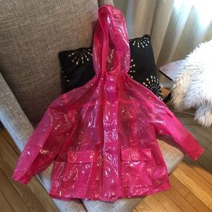 Cute Circo hot pink raincoat